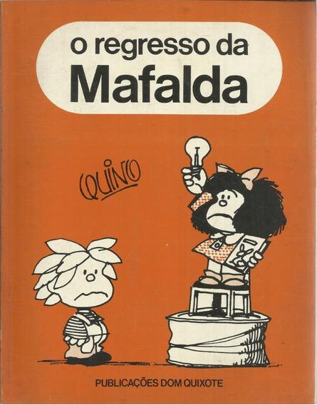 Hq O Regresso E Os Sarilhos Da Mafalda Raro Originais Quino