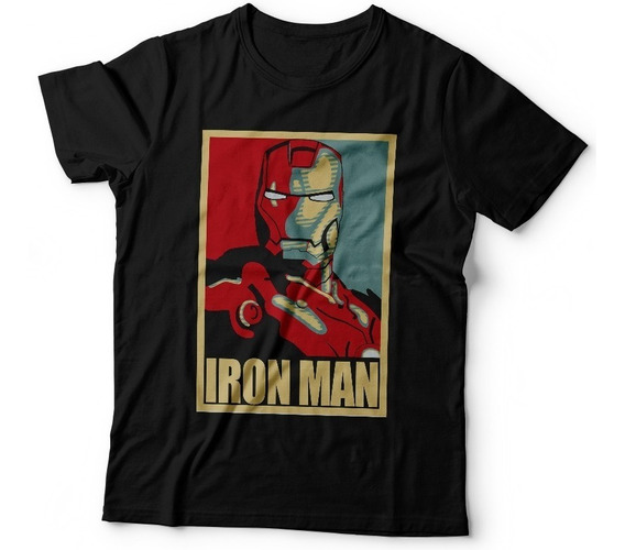 Remera Iron Man Avengers Superheroes Marvel Comics Capitan