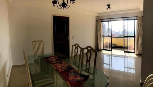 Apartamento Com 3 Dormitórios, 100 M² - Venda Por R$ 850.000,00 Ou Aluguel Por R$ 2.300,00/mês - Ipiranga - São Paulo/sp - Ap5786