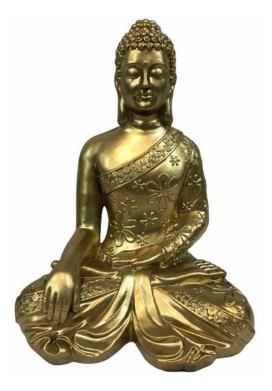 Buda De La Sabiduria. El Mejor Precio. 32cm Alto