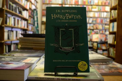 Harry Potter Y La Cámara Secreta. Slytherin. J. K. Rowling.