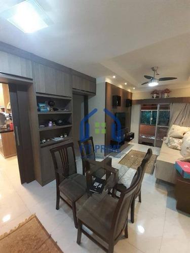 Apartamento Com 2 Dormitórios À Venda, 56 M² Por R$ 250.000,00 - Vila São Judas Tadeu - São José Do Rio Preto/sp - Ap1429