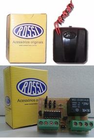Kit 1 Controle Portão Rossi Tx Carro/moto+1 Pl Luz Garagem