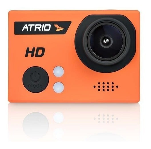 Câmera De Ação Atrio Dc186 Laranja Fullsport Cam Hd