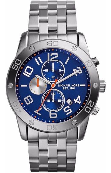 Relógio Michael Kors Mk8348 Silver Chronograph