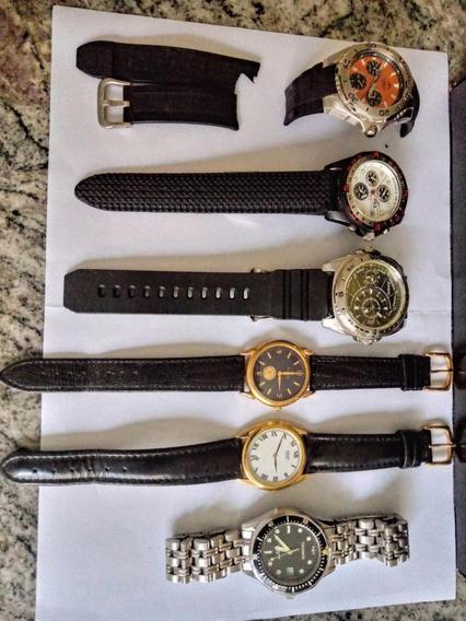 Relógios De Pulso Usados Casio/seiko/dryzun/fila/technos