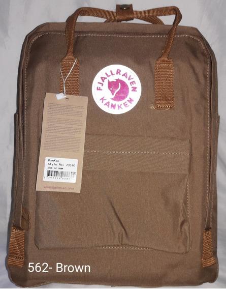 Mochila Fjallraven Kanken Classic -marrom-562 Brown