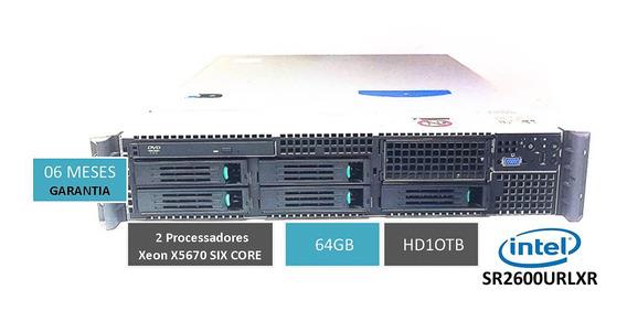 Storage Intel 10tb 2u 64mb 2 Xeon X5670 Six Core