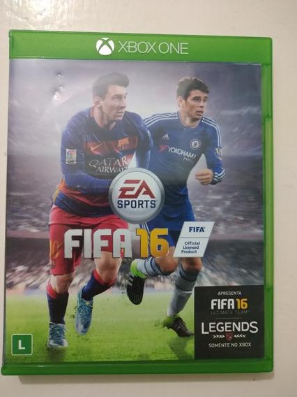 Jogo Fifa16 Xbox One Mídia Física Usada
