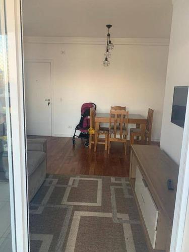 Apartamento À Venda, 70 M² Por R$ 550.000,00 - Vila Dayse - São Bernardo Do Campo/sp - Ap3086
