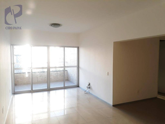 Apartamento Com 3 Dormitórios À Venda, 110 M² Por R$ 320.000,00 - Papicu - Fortaleza/ce - Ap1223