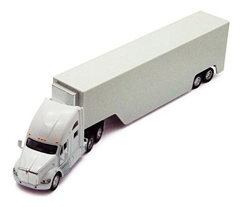 Imagen 1 de 5 de Kinsmart - Camión De Contenedores Kenworth T700 (escala 1:6