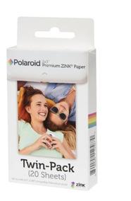 Papel Filme Polaroid (20 Folhas Impressões 2x3 Instantâneas)