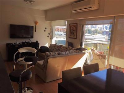 Alquiler Departamento 3 Ambientes En Puerto Madero, Amoblado