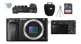 Sony Alpha A6000 Corpo + Bolsa + Tripé + 64gb Classe 10