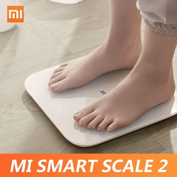 Bascula Inteligente Xiaomi Mi 2 Bt 5.0 Pantalla Led Oculta