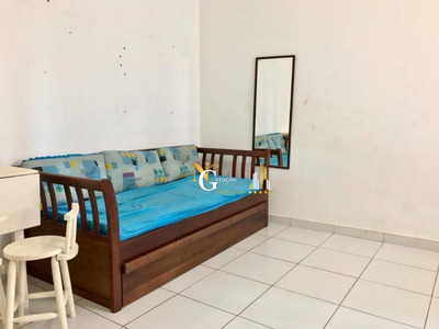 Kitnet Com 1 Dormitório À Venda, 35 M² Por R$ 65.000,00 De Entrada - Canto Do Forte - Praia Grande/sp. Ref: Kn0134. - Kn0134