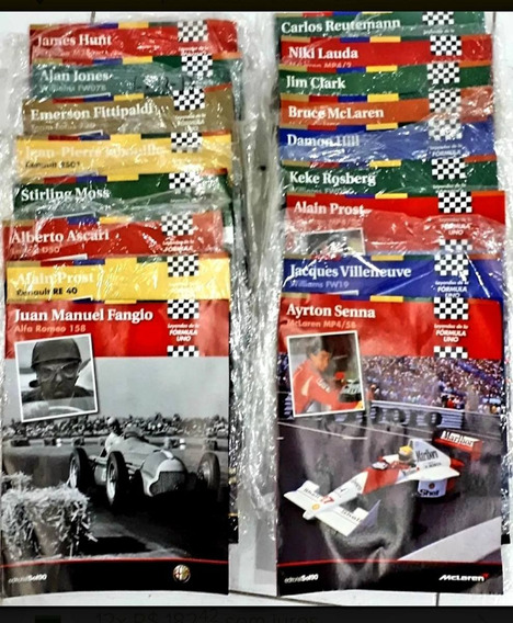 Revistas Leyendas Espanholas De La Formula Uno