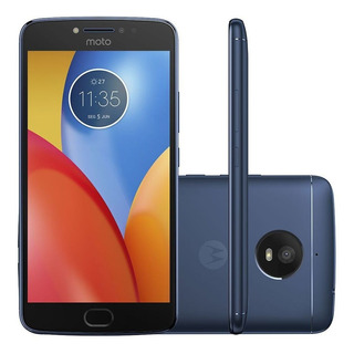Smartphone Motorola Moto E4 Plus Xt1773 16gb 4g Azul Vitrine