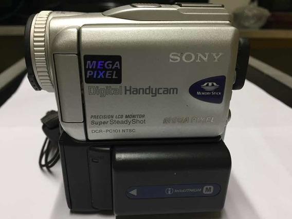 Filmadora Mini Dv Sony Dcr-pc101 Leia O Anúncio.