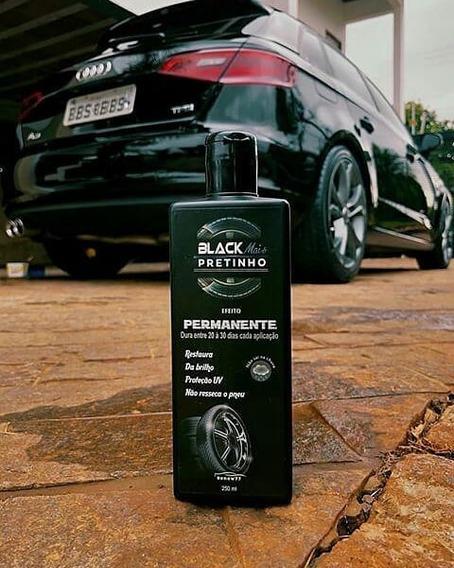 Black Mais Pretinho - Pretinho Permanente Para Pneus