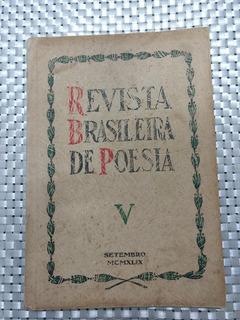 Revista Brasileira De Poesia V