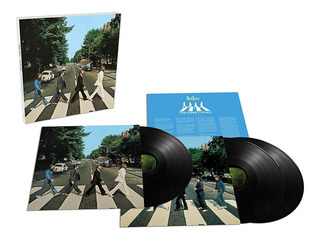 The Beatles Abbey Road 50th Anniversary 3 Lp Vinyl