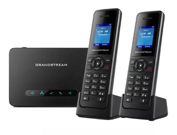 Base Telefono Grandstream Dp750 10sip + 2 Handy Dp720
