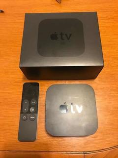 Apple Tv 4ta Generación A1625 32gb Como Nuevo Netflix