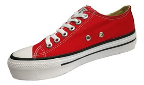 Tenis All Star Feminino Plataforma Converse 3cm Top