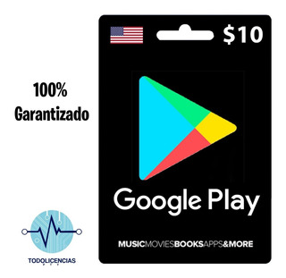 Google Play $10 (codigo Digital)