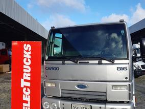 Ford Cargo 816 Chassi 2013 Baixo Km Ar Condic =815=9150=710