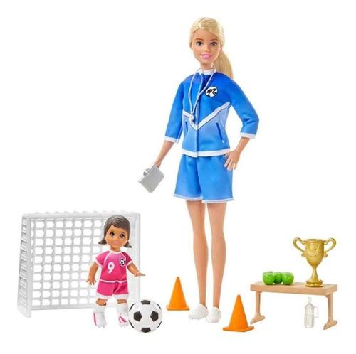 Barbie Entrenadora Maestra De Futbol Original Y Nueva Mattel