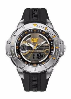 Reloj Cat Hombre Caucho Ana-digi Sumerg 100m Ma.145.21.131