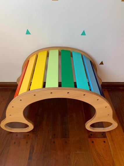 Hamaca Balancin Arcoiris Montessori Pikler Bebes Niños