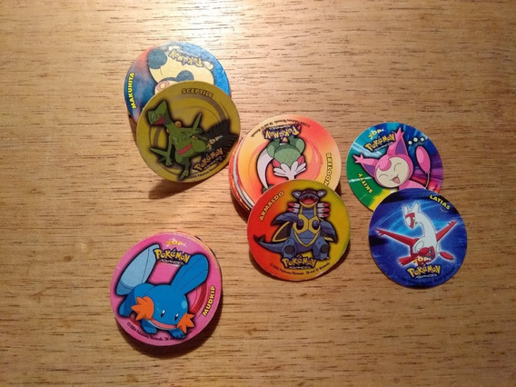 Lote De 44 Tazos Pokemon Advanced Año 2004