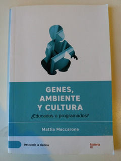 Genes, Ambiente Y Cultura Mattia Maccarone