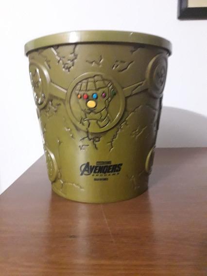 Cubeta Coleccionador Palomera Cinépolis Avengers Endgame
