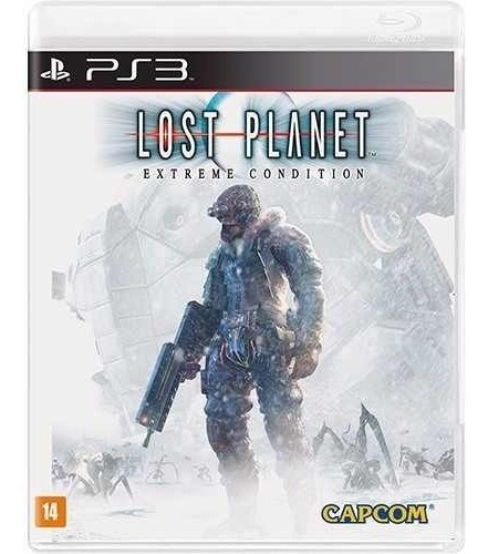 Lost Planet Extreme Condition Ps3 Mídia Física Rcr Games