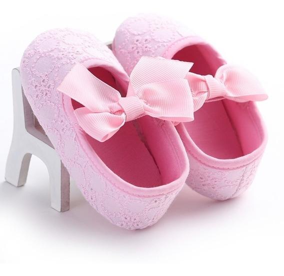 2 Sapato Bebe Batismo Festa 1 Ano Menina Varias Cores Modelo
