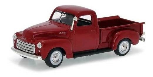 1950 Gmc Pickup Bordô - Escala 1:43 - Yat Ming