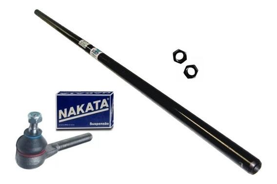 Barra De Direção Para Rural/f-75 1200mm + 2 Terminais Nakata