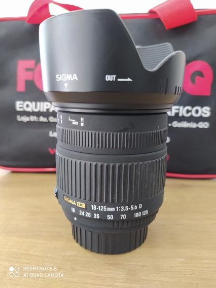 Lente Sigma 18-125mm Para Nikon