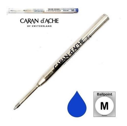 Imagem 1 de 1 de Carga Refil Caran Dache Goliath Esferográfica Média - Azul
