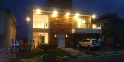 Casa Com 3 Dormitórios À Venda, 360 M² Por R$ 1.490.000,00 - São João Do Rio Vermelho - Florianópolis/sc - Ca0590