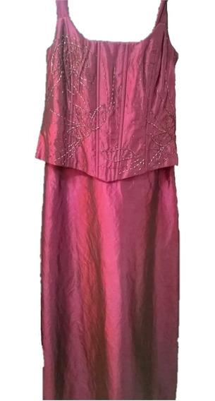 Vestidos De Fiesta - Corset Y Falda - Talle L