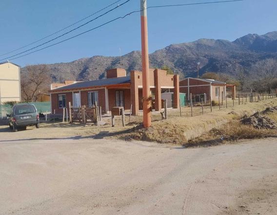 Vendo 2 Casas Potrero De Los Funes (s/terreno De 1300 Mts)