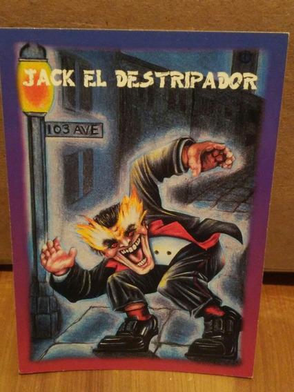 Tarjeta Jack Monstruos De Bolsillo Sonrics Vintage 1994