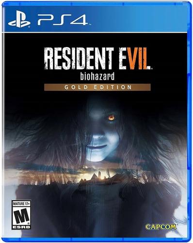 Imagen 1 de 9 de Resident Evil 7 Biohazard Gold Editon Ps4 Juego Sellado