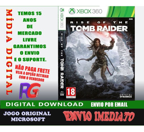 Rise Of The Tomb Raider Midia Digital Xbox360